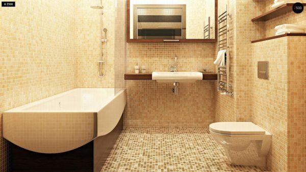 Фото 11 - Zb7 - Компактные дома близнецы в современном стиле с уютным интерьером.