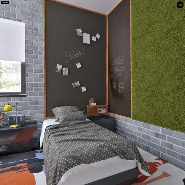 Фото 19 - Zx63 - Современный элегантный дом с гостиной с фронтальной стороны.