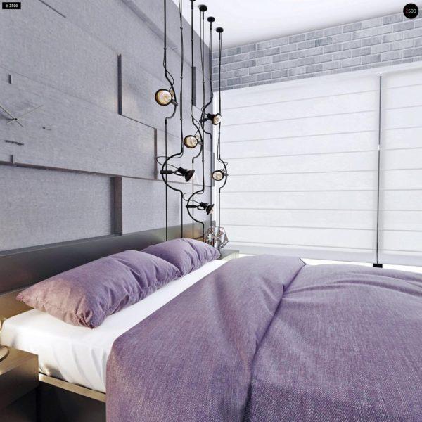 Фото 25 - Zx63 - Современный элегантный дом с гостиной с фронтальной стороны.